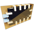TV MOVING BOX & FOAM KIT 26-32 inch