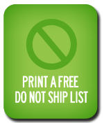 Do Not Ship List Button
